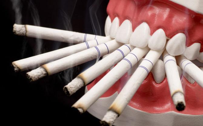 Сколько нельзя курить после удаления зуба и почему