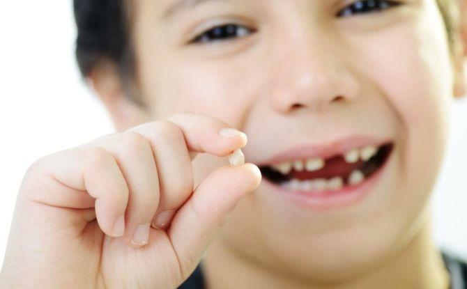 Как выдернуть молочный зуб ребенку в домашних условиях без боли