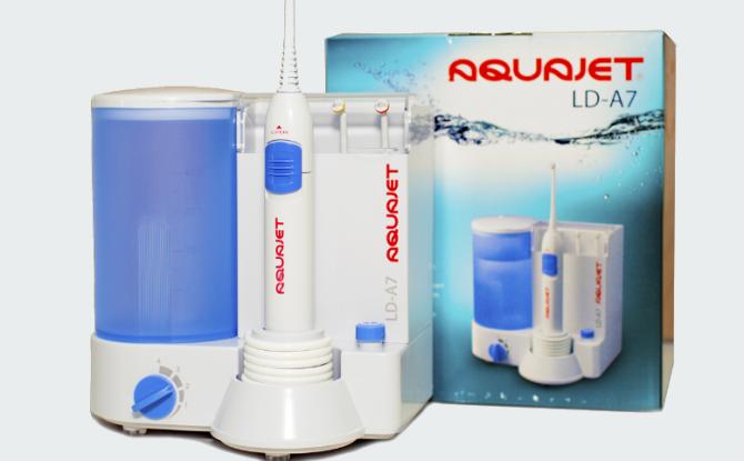 Обзор ирригаторов Aquajet LD a7 и LD a8