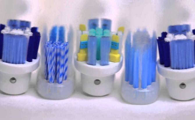 Обзор сменных насадок для зубной щетки Oral-B