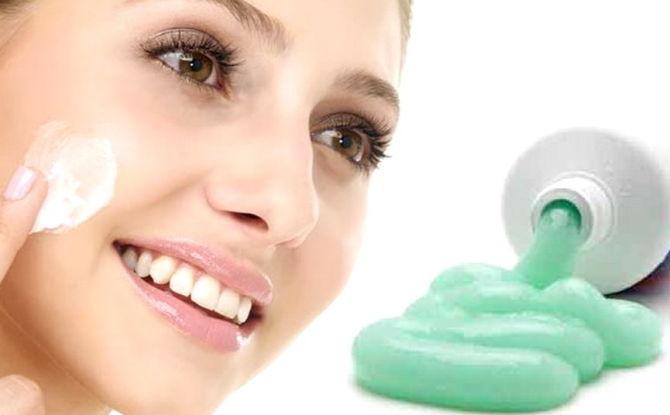 Зубная паста от прыщей на лице: помогает ли, как действует, правила применения