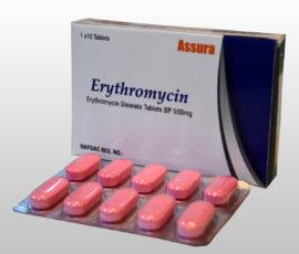Антибиотик Эритромицин