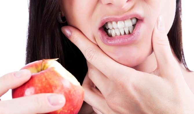 Болит зуб при надкусывании пищи