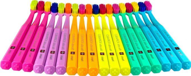 Детские зубные щетки CS 7600 «Ультра-софт смарт»