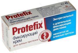 Фиксирующий крем «Протефикс»