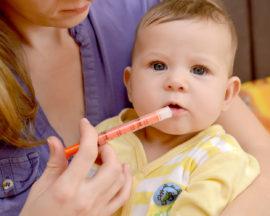 Ибупрофен от температуры для детей