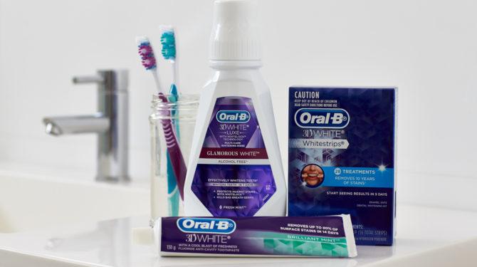 Комплект средств для ухода за зубами от Oral-B