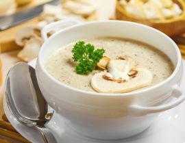 Крем-суп для меню после экстракции