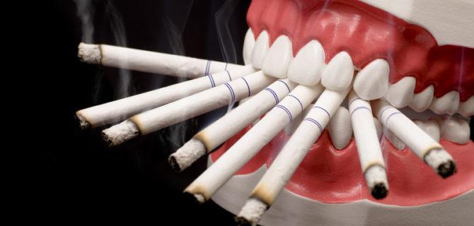 Курение после удаления зуба