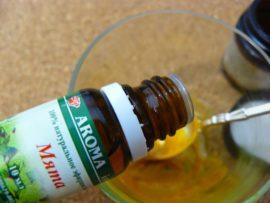Куркума, кокосовое масло и мята