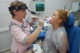 Лечение тонзилита аппаратом Тонзиллор