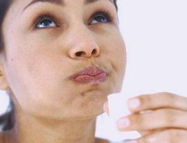 Полоскание рта настойкой прополиса