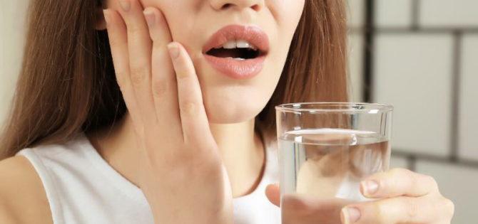 Полоскание рта при зубной боли
