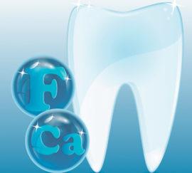 Роль фтора для зуба