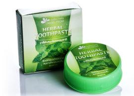 Тайская зубная паста Wang Prom Herb