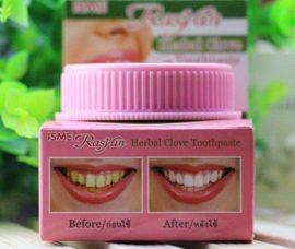 Тайский зубной порошок Herbal Clove Toothpaste