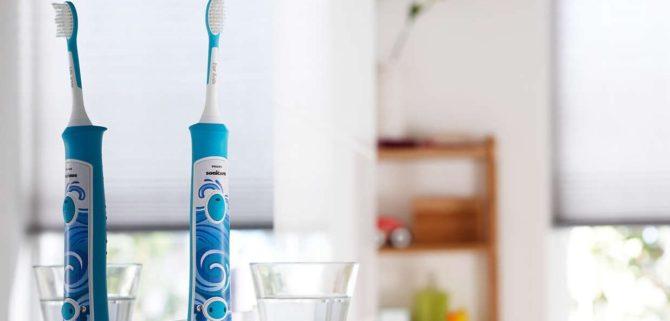 Зубные щетки Philips Sonicare