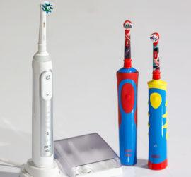 Электрическая щетка для зубов