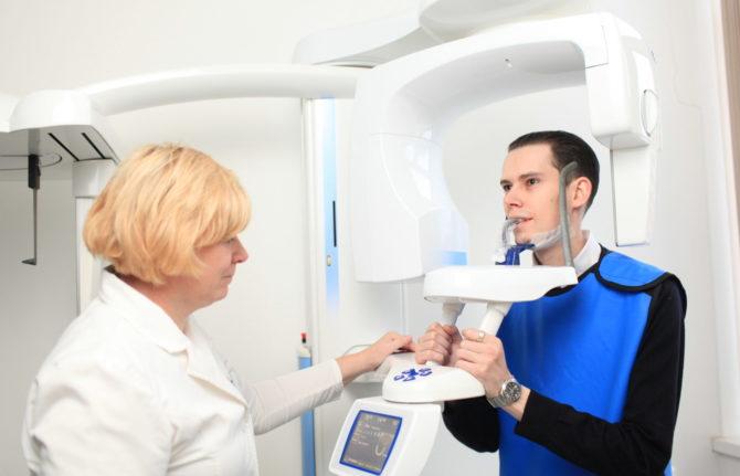 Как делается ортопантомограмма