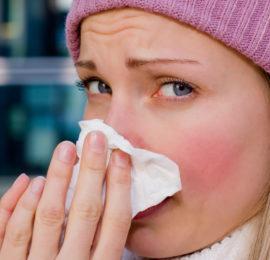 Жжение языка из-за простудного заболевания